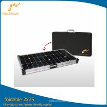 Kit pliant de panneau solaire de prix concurrentiel 150watt pour le camping
