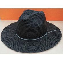 Летняя шляпа соломенной шляпы Fedora (SW-080004)