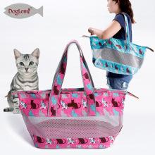 Cão respirável Pet Sling Carrier Cabelo Livre Canvas Pet Cat Travel Carrier