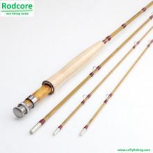 8ft 3piece 5wt Split Bambus Fliegen Rod