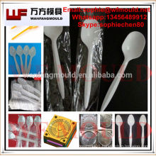 OEM Custom small spoon mould/Custom Design plastic injection small Disposable injection plastic Food Grade Spoon Mold