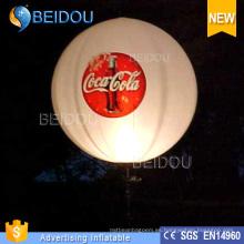 Fábrica de encargo Hélice RC inflables dirigibles dirigibles Globos de publicidad LED