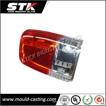 Producto de moldeo por inyección de plástico, pantalla de la lámpara del coche / cubierta de la lámpara para el rendimiento del automóvil