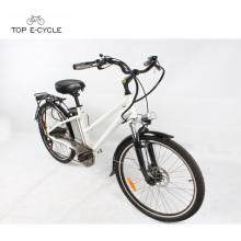 """Nueva bicicleta eléctrica verde CE / EN15194 de la bici de la ciudad del neumático del kenda 26 """"aprobada"""