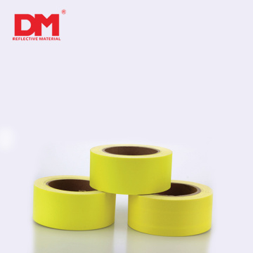 DM Coloured Cotton Fire Resistant Fluorescent Yellow Reflective Fabric