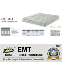 Colchón de la cama del dormitorio del hotel de la estrella (EMT-MT4)
