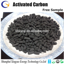 1.5mm extruded pelletized chemically activated carbon