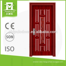 export top quality product Wood heat insulation carved fire doors