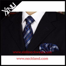 Factory New Style Popular Silk Tie and Handkerchief