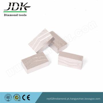 Ferramenta de diamante afiada com segmento de diamante de forma cônica