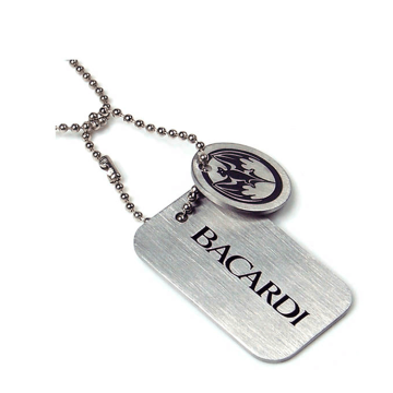 Promotional Cheap Partihandel Custom Metal Dog Tag