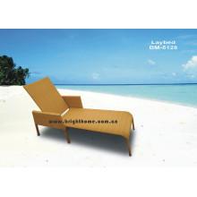 Outdoor Wicker Sun Lounge Rattan Wicker Möbel