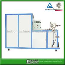 Plastic and aluminum flexible duct machine