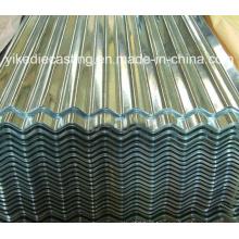Folha de telhadura de aço galvanizado de metal Galvanizum