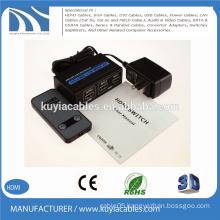 HDMI Switcher 2x1 3D 4K*2K 2160P mental shell