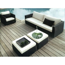 Modern Style Wicker Furniture Sofa Sections Oem