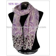 шерсть элегантный шарф