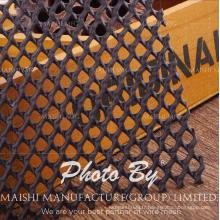 Maille de fabrication industrielle en plastique de diamant