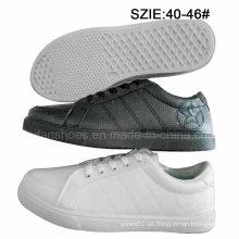 Los últimos zapatos del patín de la inyección de los hombres del precio bajo se divierte los zapatos (MP16721-3)