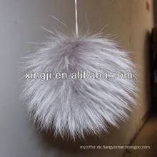Großes Fell Pompon Zubehör