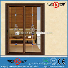 JK-AW9103 interior glass sliding door/economic folding doors price
