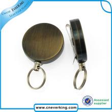 Benutzerdefinierte Metalldraht Spinning Yoyo Abzeichen Reel