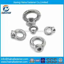 Zinco de aço carbono chapeado olho de elevação porca DIN582 da China fábrica