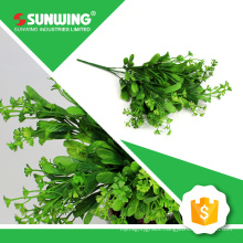 new year decoration artificial plant branches with green leaves with CE