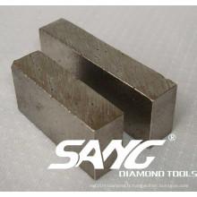 Diamond Tools Bonne qualité segment de coupe de diamant
