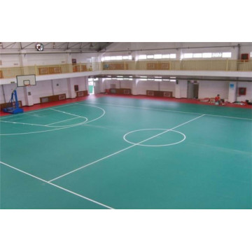 Silicon Pu indoor Sports Flooring