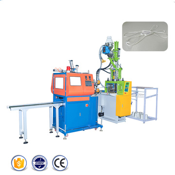 Hang Tag Injection Molding Machine with Plastic Lock