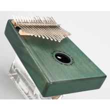 Piano de pulgar verde de 17 tonos