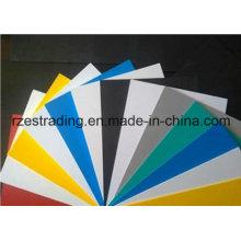 Folha de espuma de PVC coloridas para móveis