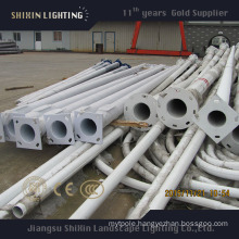 3-15m Hot DIP Galvanized Round and Conical Street Lighting Pole