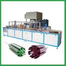 Armature powder coating machine