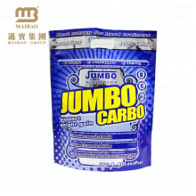 Pet/Vmpet/Pe Film Brand Company Name Printed Zip Lock Plastic Stand Up Bags For Packaging Powder Products