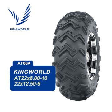 Neumáticos de paleta cuádruple de cuatro ruedas 22X8-10 ATV