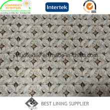260t Twill 100% Polyester Print Lining for Cloth