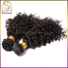 Direkter Kauf von Dubai Indien Afro versauten menschliches Haarverlängerung