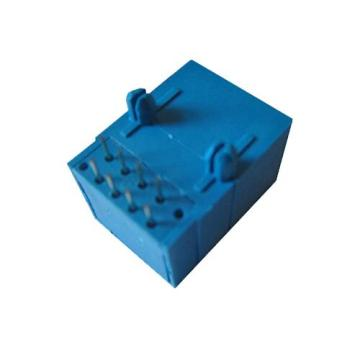RJ11 Jack Side Entry Volledig Plastic 1x1P Socket
