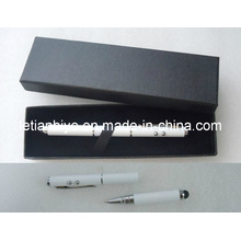Caneta Multifunções com Toque para iPhone, Laser e Luz LED (LT-C415)