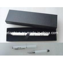 Многофункциональная ручка касания для iPhone, лазерные и светодиодные (ЛТ-C415)