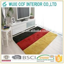 antideslizante Color cambio de alfombras de goma de respaldo moqueta