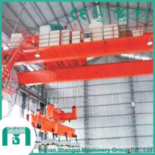 Grúa aérea electromagnética de (7,5 + 7,5) a (20 + 20) toneladas con viga portadora