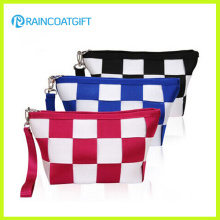 Recycle Travel Beauty Satin Canvas Cosmetic Bag Rbc-062