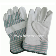 Double Palm Kuh Split Leder Handschuhe Bau Sicherheit Handschuh