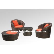 Single Sofa Rattan Wicker Garden Furniture Bg-106