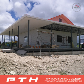 China Prefabricated Light Steel Structure Villa House Building
