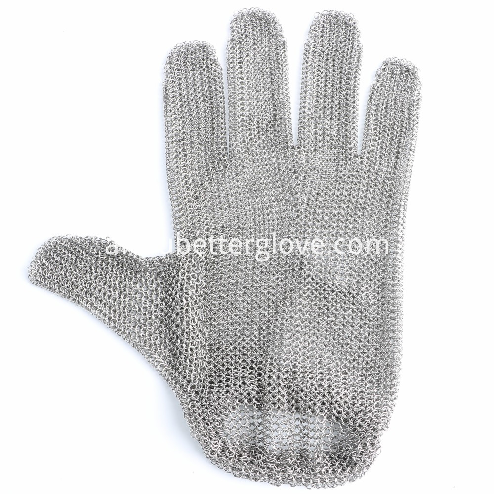 Steel Glove With Spring Strap01
