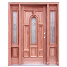 Твердого Красного Дерева Наружные / Входные Двери 40050